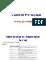 QTP Presentation