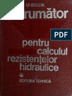 Indrumator Pentru Calculul Rezistentelor Hidraulice - I.E. Idelcik, 1984
