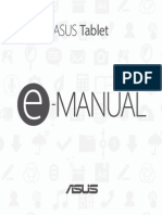 Manual Asus Tablet