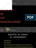 requisitos municipales