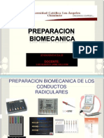 PREPARACION BIOMECANICA-OBTURACION