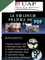 La Violencia Política en El Perú 80 -Diapos