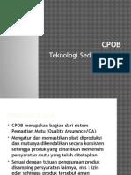 CPOB Teknologi Sediaan Solid