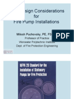 New Design Considerations for Fire Pump Installations