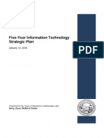 Five-Year Information Technology Strategic Plan