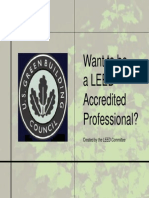 Want to Be a LEED AP?