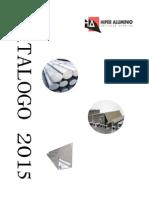 Catalogo 2015 Perfiles Alumniio