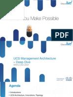 2013 Anz PDF BRKCOM-2001 - UCS Management Architecture u2013 Deep Dive