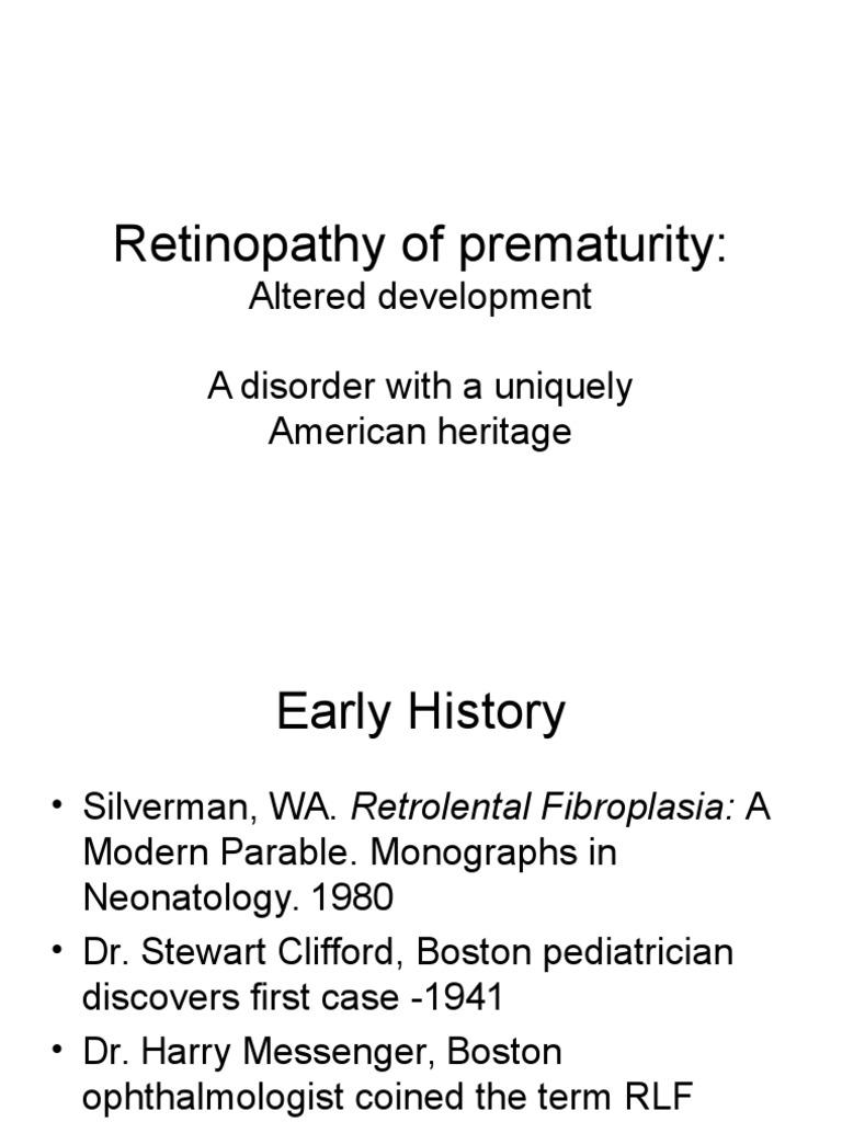Retrolental fibroplazi 79