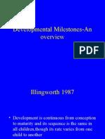 Dev Milestones