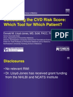 Calculating the Cvd Risk Score Which Tool for Which Patient