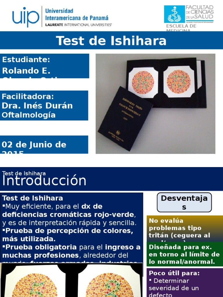 Test De Ishihara Completo Pdf Download