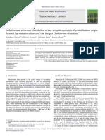 Phytochemistry Letters Volume 5 Issue 1 2012 [Doi 10.1016%2Fj.phytol.2011.12.013] Gianluca Nasini; AlbertIsolation and Structure Elucidation of Aza-sesquiterpeno