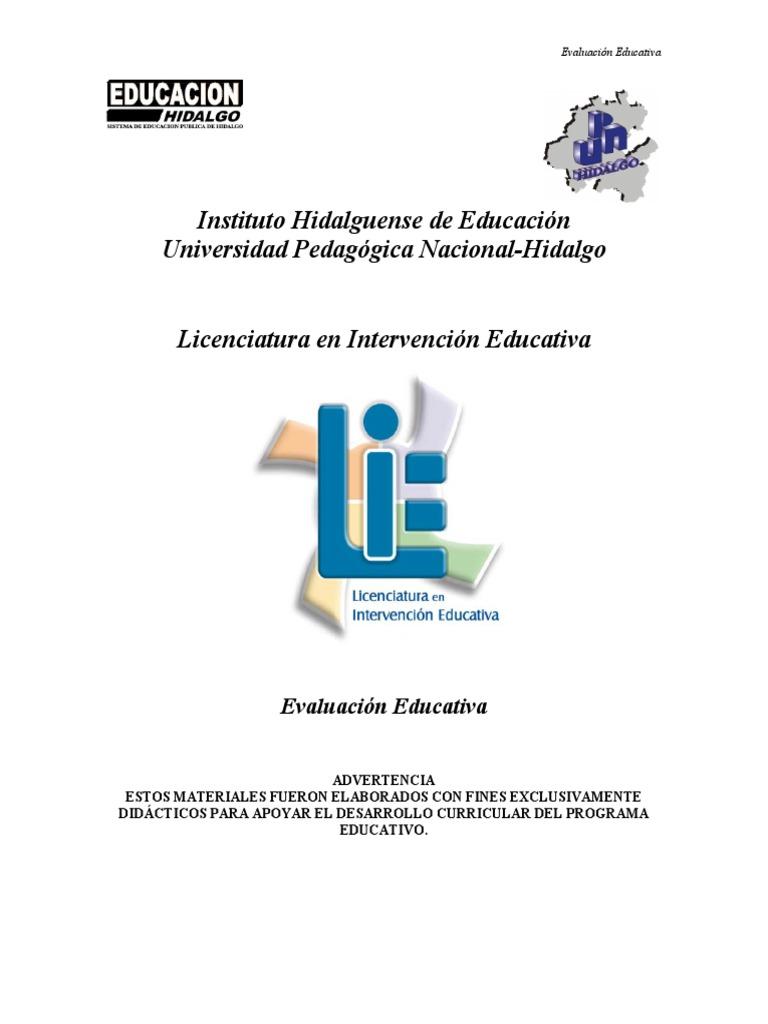 Evaluacion Educativa