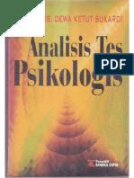 Analisis Tes Psikologis