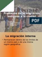 La migración Interna