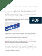 Facebook Quiere Que Los Niños Menores de 13 Años de Edad en Las Redes Sociales