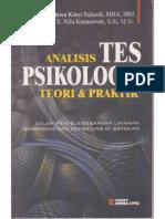 Analisis Tes Psikologis Teori Dan Praktik Dalam Penyelenggaraan Layanan Bimbingan Dan Konseling Di Sekolah.
