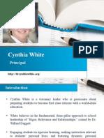 Cynthia White | Info & Images