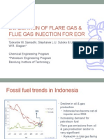 MGF-EOR Using Flare-Flue Gas