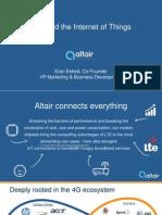 Altair LTE IoT Webinar