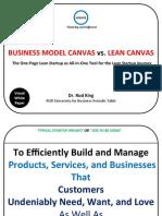 businessmodelcanvasvsleancanvasvsecosystemdashboardvdduniversity-121125184150-phpapp02