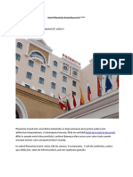 Hotel Phoenicia Grand Bucuresti - Informatii Si Contact