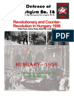 Revolutionary and Counter-Revolution in Hungary 1956 Peter Fryer, Gerry Healy, Bob Pitt, June 2015