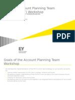Account Planning Team Workshop Slides