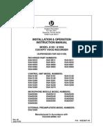 A100A CVR Install Manual