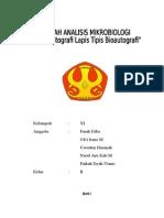 Makalah Mikro Analisis (KLT Bioautografi)