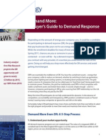 A Buyers Guide to Demand Response