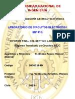 Informe Final Laboratorio Nº 7 Circuito RLC