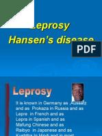 DMS. K09b. Leprosy