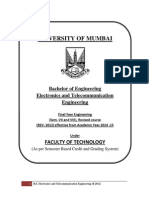 BE EXTC Syllabus Mumbai Univ R2012