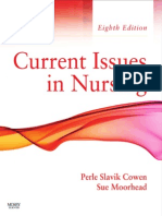 Current Issues in Nursing - Slavik Cowen, Perle [SRG]