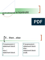 PHP - 2011 - Seminar1 - Strukturat e Kontrollit