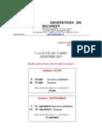 Proiect Calendar 2015 - Admitere