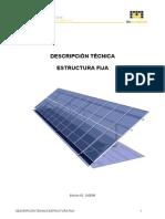 Descripcion Tecnica Estructura Solar