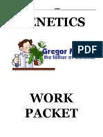 Answer Key Genetics Workpacket
