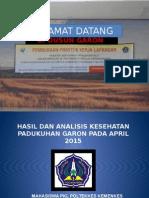 Presentasi Asuhan Data Hasil Pengkajian Di Dusun Garon
