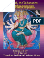 Gayathri, the Vedasaara