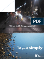 What is It Governance