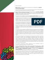 Lettre de Candidature Philippe GUGLIELMI