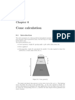 Cone Calculation