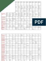 Training Calendar 2015 2