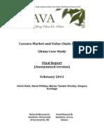 Ghana Cassava Market Study