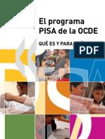 Caracteristicas Del Programa PISA