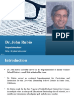 John Rubio Superintendent | Info & Images