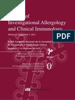 Alergia Alimentaria